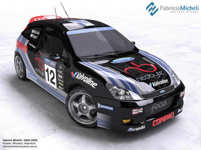 beautiful black focus rally carkinda